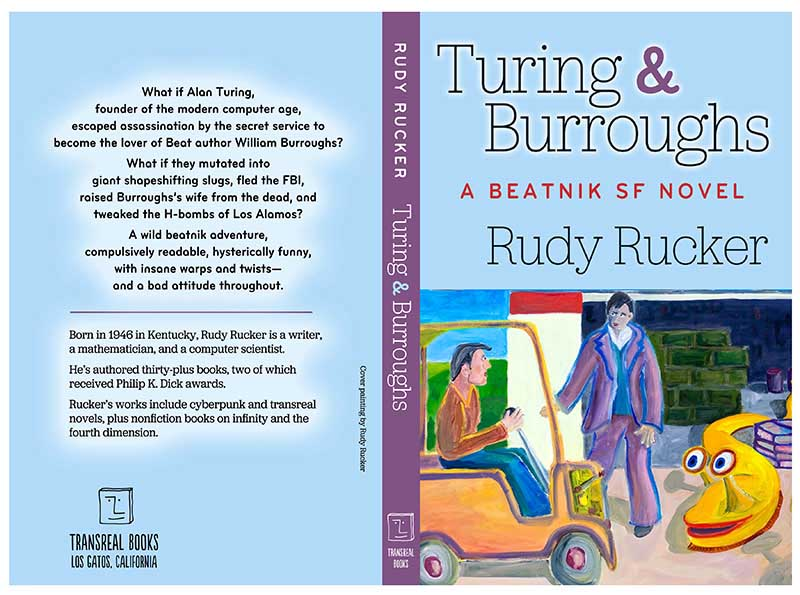 Turing & Burroughs: A Beatnik SF Novel